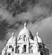 le ciel au-dessus de Montmartre
